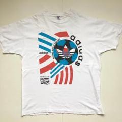 "Thumbnail of ""adidas 三つ葉マーク サッカー ワールドカップ1994 アメリカ Tシャツ"""