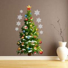 """Thumbnail of """"【セール★】クリスマスツリー ウォールステッカー シール アート パーティー"""""""
