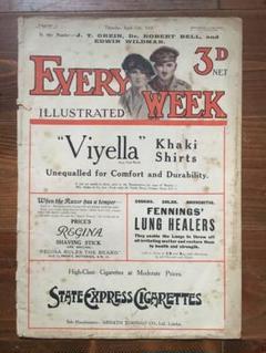"Thumbnail of ""EVERY WEEK 1918年の雑誌"""