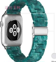 "Thumbnail of ""Apple watch 38mm/40mm バンド ベルト マットグリーン"""