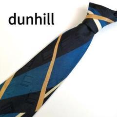 """Thumbnail of """"【フランス製】dunhill(ダンヒル) メンズネクタイ 複数ロゴ 希少デザイン"""""""