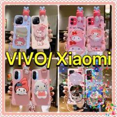 "Thumbnail of ""VIVO Xiaomi マイメロ ミラー付き 人形 ケース カバー セット割"""