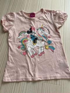 "Thumbnail of ""Tシャツ ミニーマウス 120cm 半袖 ピンク パフスリーブ袖"""