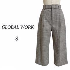"Thumbnail of ""GLOBAL WORK グローバルワーク◎ チェック ワイドパンツ S"""