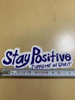 "Thumbnail of ""supreme stay  positive シュプリーム ステイ ステッカー"""