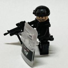 "Thumbnail of ""LEGO レゴ 互換 SWAT 兵士 銃付き G"""