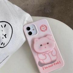 "Thumbnail of ""人気ピンクの豚  iphone12 ケース"""