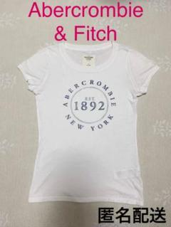 Abercrombie & Fitch / Tシャツ ロゴT 白T ロゴプリントのサムネイル