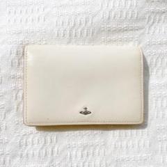 "Thumbnail of ""【Vivienne Westwood】カードケース 名刺入れ ホワイト/レッド"""