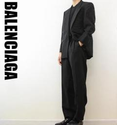 "Thumbnail of ""OC0003 BALENCIAGA セットアップ スーツ 黒"""