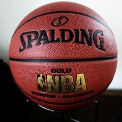 """Thumbnail of """"SPALDING バスケットボール 7号 NBA GOLD JBA 公認"""""""