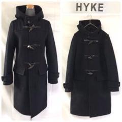 "Thumbnail of ""HYKE ダッフルコート メルトン ネイビー ハイク"""