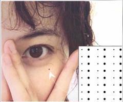 "Thumbnail of ""ほくろ タトゥー シール 黒子 tattoo 長持ち お徳用"""