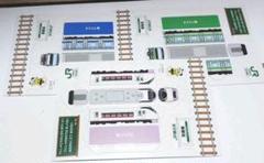 JR 電車 ペーパークラフト