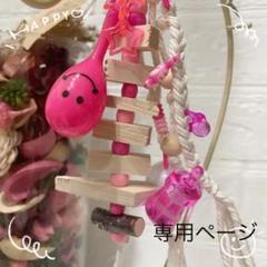 """Thumbnail of """"インコちゃん ♥マラカスおもちゃ"""""""
