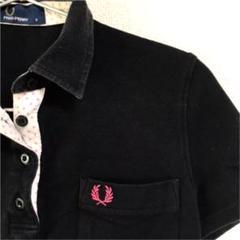 "Thumbnail of ""FRED PERRY フレッドペリー ブラックポロシャツ"""