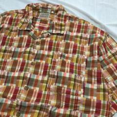 "Thumbnail of ""80年代 90年代 vintage 半袖 チェックシャツ クレイジーパターン"""