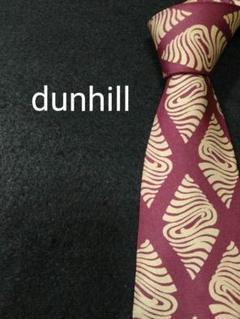 """Thumbnail of """"【美品】ハイブランド dunhill ネクタイエンジカラー シルク素材"""""""