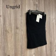"Thumbnail of ""☆【Ungrid】カップ付き ベアトップ 新品タグ付き"""