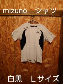 "Thumbnail of ""mizuno シャツ! 白黒Lサイズ!  043"""