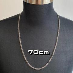 "Thumbnail of ""H4 シルバー ロングチェーンネックレス 【70cm】メンズ ネックレス"""