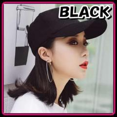 "Thumbnail of ""送料無料♡ カジュアルキャップ 黒 ブラック"""