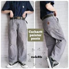 "Thumbnail of ""【大人気】Carhartt 革ロゴ ルーズストレート ダブルニーペインターパンツ"""