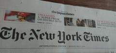 "Thumbnail of ""大谷翔平 新聞 特集記事 英字 The New York Times 大リーグ"""