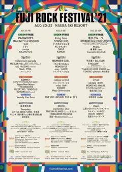 "Thumbnail of ""FUJI ROCK FESTIVAL 2021 3日通し券+キャンプサイト券"""