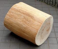 "Thumbnail of ""静岡県伊豆産 天然ヒノキ椅子・大(直径31×34.5cm高さ40cm)"""