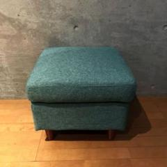 "Thumbnail of ""【美品】NOCE / Sofa HY0861 Stool Blue"""
