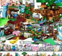 """Thumbnail of """"0新品マインクラフト+ LEGOブロック互換品大量セット マイクラ"""""""