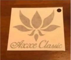 """Thumbnail of """"AXXE CLASSIC アックスクラシック 抜き文字ステッカー 茶色"""""""