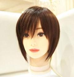 "Thumbnail of ""レミー人毛100%シルクスキンI型つむじ地肌✨筧美和子❣️艶髪!美人セミロング✨"""