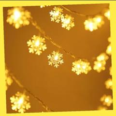 """Thumbnail of """"スノーピークエンブレム風 SnowCrystal 雪結晶 LEDガーランド"""""""