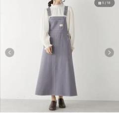 """Thumbnail of """"タグ付き!未使用!サロペット ジャンパースカート"""""""