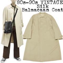 """Thumbnail of """"★希少★80s-90s VINTAGE★シルク ステンカラーコート★ベージュ★"""""""
