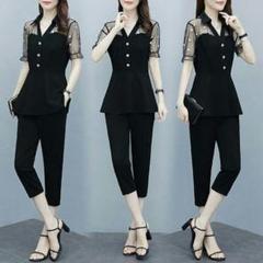 "Thumbnail of ""大きいサイズの婦人服夏服の韓国版の新しい2点セットの女性m-4xl"""