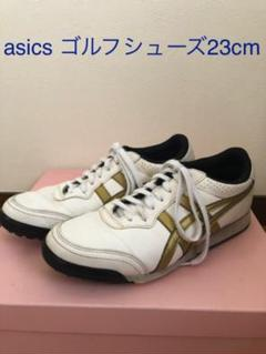 "Thumbnail of ""asics ゴルフシューズ 23cm"""