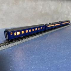"Thumbnail of ""【860】Nゲージ KATO 24系25形寝台客車  3両セット(室内灯有)"""
