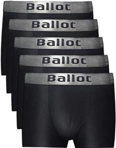 """Thumbnail of """"Ballot ボクサーパンツ メンズ 下着 5枚セット ボクサーブリーフ 黒 L"""""""