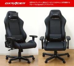 "Thumbnail of ""ほぼ未使用 DXRACER オフィス ゲーミングチェア SOHO DX-03BK"""