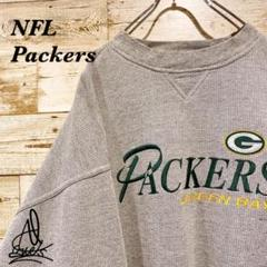 "Thumbnail of ""《Packers》NFL スウェット XL☆グレー 灰色 チームロゴ 刺繍ロゴ"""