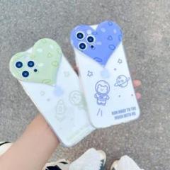 "Thumbnail of ""人気 ハート型 iphone12 ケース グリーン"""