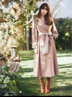 "Thumbnail of ""Herlipto  Belted Dress Trench Coat"""