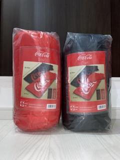 "Thumbnail of ""Coca Cola 封筒型 寝袋 シュラフ 2色セット"""