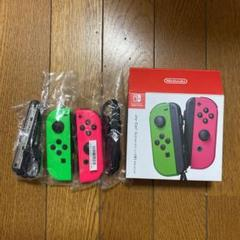 "Thumbnail of ""Nintendo JOY-CON (L)/(R) ネオングリーン/ネオンピンク"""