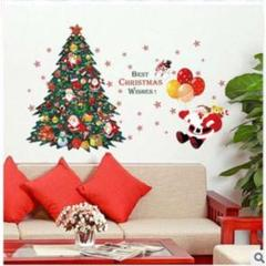"""Thumbnail of """"【注目商品★】ウォールステッカー クリスマス 壁紙クリスマス ツリー  サンタ"""""""