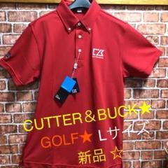 "Thumbnail of ""☆★☆CUTTER&BUCKカッターアンドバックGOLFウェアRED★ポロシャツ"""
