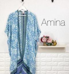 "Thumbnail of ""美品★ Aminaコレクション 羽織り ジレ インド製"""